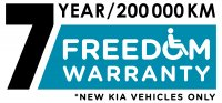 Freedom Motors Australia | Latest News - Wheelchair Accessible Vehicle Conversions - Freedom Motors Australia is so sure about the quality of their KIA modifications that from the 1st of March 2018 all order placed (New Vehicles Only) will carry a 7 Year, 200,000Kms (Conditions Apply) Warranty. So why not trust Freedom with your next KIA Modification and go with the best!