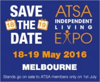 Wheelchair Ramp Accessible Vehicles at Handicap & Disability Shows & Visits - ATSA INDEPENDENT LIVING EXPO 18-19 MAY 2016