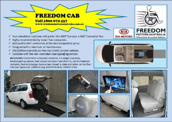 Wheelchair Access Vehicle Conversions News