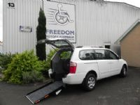 Freedom Motors Australia | Second Hand Wheelchair Accessible Handicap Vehicles For Sale - 2010 KIA GRAND CARNIVAL FREEDOM VAN