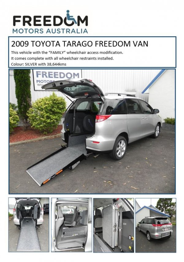 Wheelchair accessible vehicles for sale second hand for Freedom motors handicap vans