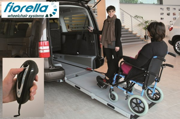 Handicap Vans, Disability Buses, Wheelchair Access Vehicle Conversion Products - FIORELLA WHEELCHAIR TOWING WINCH