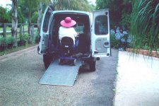 Freedom Motors Australia specialise in Handicap Cars, Disability Vans, Wheelchair Access Vehicle Conversions | ../../dc/testimonialimages/RW2_1.jpg