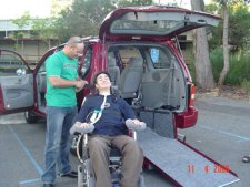 Freedom Motors Australia specialise in Handicap Cars, Disability Vans, Wheelchair Access Vehicle Conversions | ../../dc/testimonialimages/agnew3_1.jpg