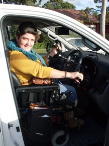 Freedom Motors Australia specialise in Handicap Cars, Disability Vans, Wheelchair Access Vehicle Conversions | ../../dc/testimonialimages/athena3_1.jpg