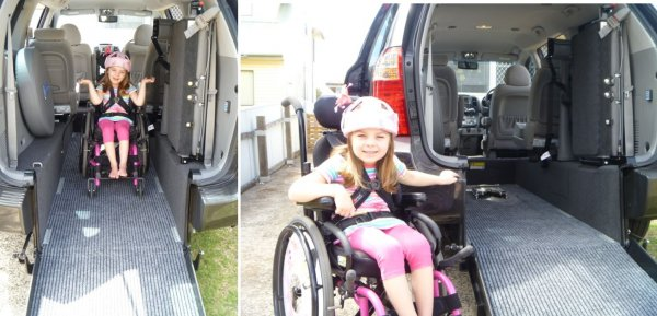 Freedom Motors Australia | Customer Testimonials - Wheelchair Accessible Vehicle Conversions - ../../dc/testimonials/Freedom_Chloe.jpg