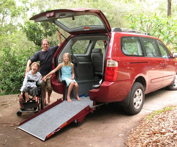 Freedom Motors Australia | Customer Testimonials - Wheelchair Accessible Vehicle Conversions - ../../dc/testimonials/Gkids_Kia_01.jpg