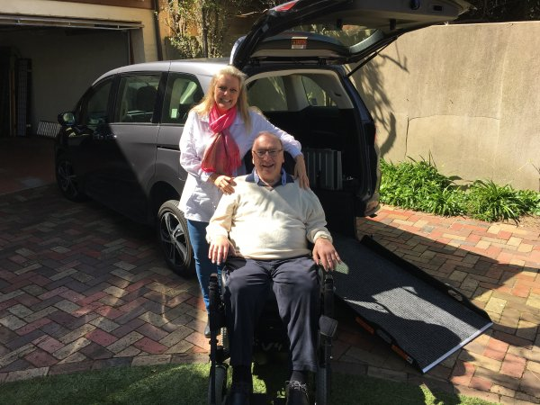 Freedom Motors Australia | Customer Testimonials - Wheelchair Accessible Vehicle Conversions - ../../dc/testimonials/Ian_McPherson.jpg
