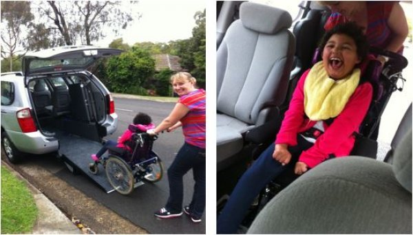 Freedom Motors Australia | Customer Testimonials - Wheelchair Accessible Vehicle Conversions - ../../dc/testimonials/Julie_1.jpg