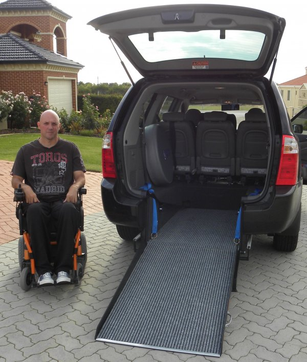 Freedom Motors Australia | Customer Testimonials - Wheelchair Accessible Vehicle Conversions - ../../dc/testimonials/Michael_Beros.jpg