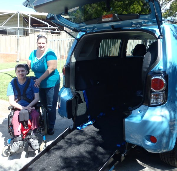 Freedom Motors Australia | Customer Testimonials - Wheelchair Accessible Vehicle Conversions - ../../dc/testimonials/PB130002.jpg