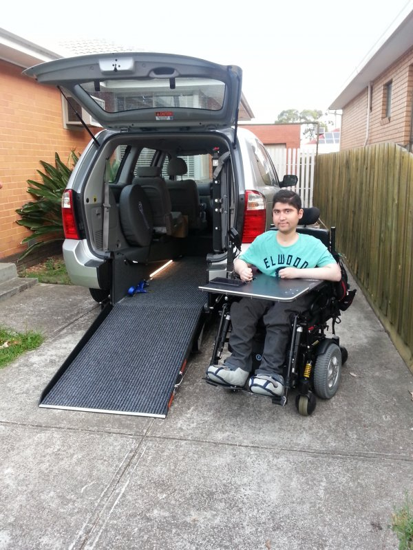 Freedom Motors Australia | Customer Testimonials - Wheelchair Accessible Vehicle Conversions - ../../dc/testimonials/Testimonial_photo_1.jpg