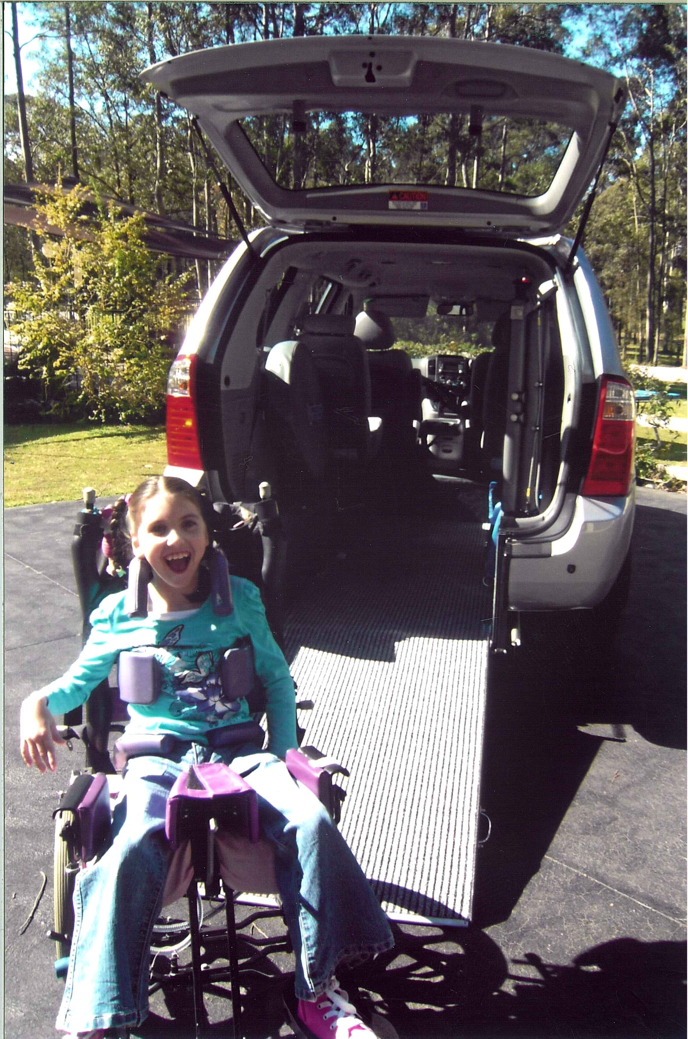 Freedom Motors Australia | Customer Testimonials - Wheelchair Accessible Vehicle Conversions - ../../dc/testimonials/Wallace_3.jpg