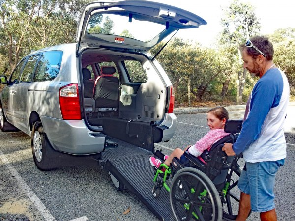 Freedom Motors Australia | Customer Testimonials - Wheelchair Accessible Vehicle Conversions - ../../dc/testimonials/ashwheelchair1.jpg
