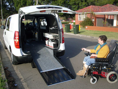 Freedom Motors Australia | Customer Testimonials - Wheelchair Accessible Vehicle Conversions - ../../dc/testimonials/athena2.jpg