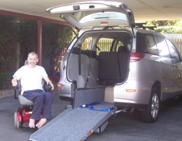Freedom Motors Australia | Customer Testimonials - Wheelchair Accessible Vehicle Conversions - ../../dc/testimonials/carroll.jpg