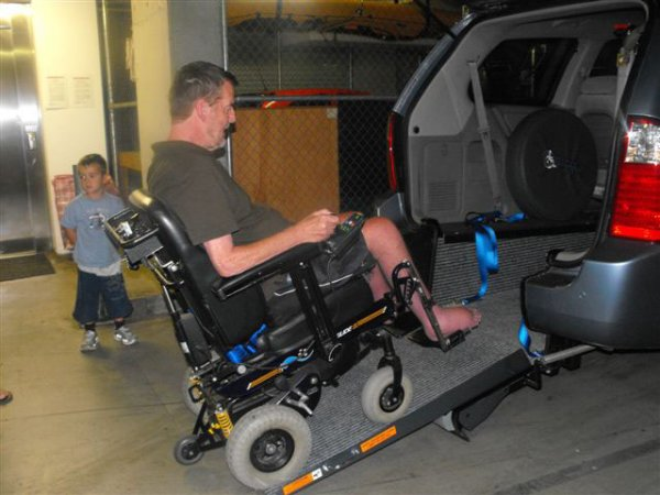 Freedom Motors Australia | Customer Testimonials - Wheelchair Accessible Vehicle Conversions - ../../dc/testimonials/gooley2.jpg