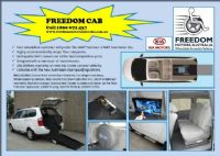 Freedom Motors Australia | Latest News - Wheelchair Accessible Vehicle Conversions - Available for ordering right now, the latest WAT TAXI FREEDOM CAB based on the very popular KIA GRAN