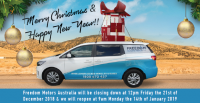 Freedom Motors Australia | Latest News - Wheelchair Accessible Vehicle Conversions -