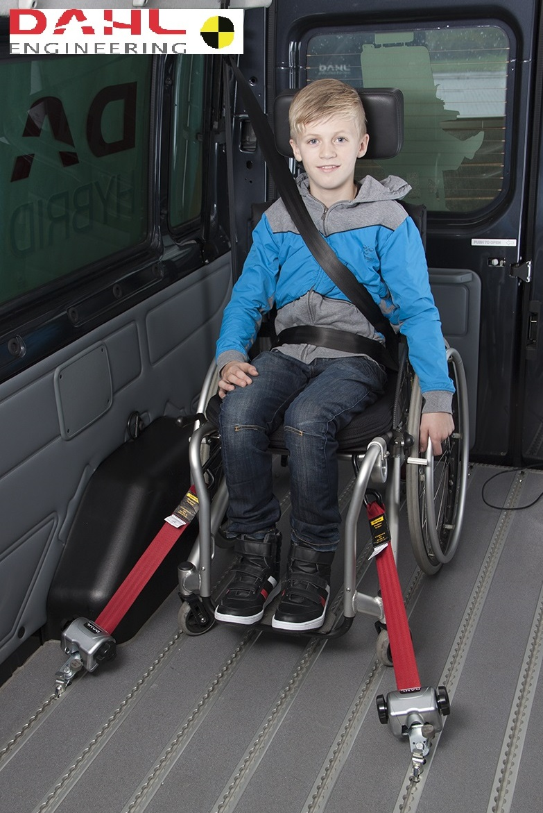 Freedom Motors Australia specialise in Disability Vans and Wheelchair Accessible Vehicle Conversions | DAHL 85 KG EVOLUTION WHEELCHAIR RESTRAINTS - ../../dc/products/Dahl_Restraints_with_logo.jpg