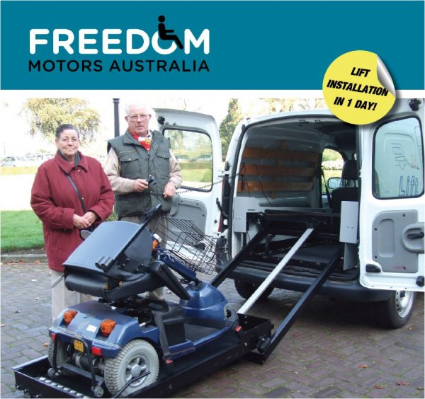 Handicap Vans, Disability Buses, Wheelchair Access Vehicle Conversion Products - FREEDOM LIFT&GO
