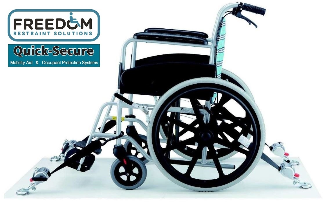 Handicap Vans, Disability Buses, Wheelchair Access Vehicle Conversion Products - FREEDOM RESTRAINT SOLUTIONS