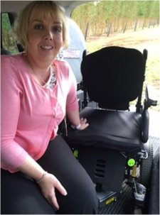 Freedom Motors Australia specialise in Handicap Cars, Disability Vans, Wheelchair Access Vehicle Conversions | ../../dc/testimonialimages/Katharine_Butcher_2_1.jpg
