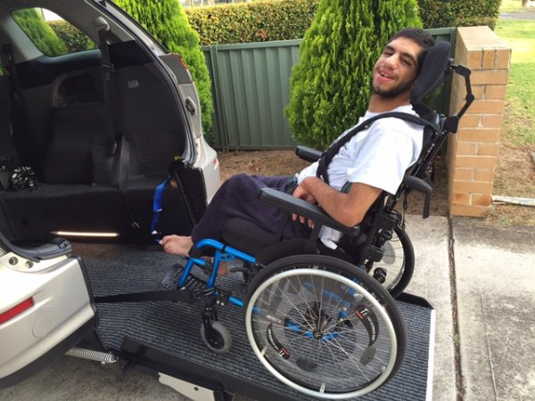 Freedom Motors Australia | Customer Testimonials - Wheelchair Accessible Vehicle Conversions - ../../dc/testimonials/Ali_Mourad.jpg