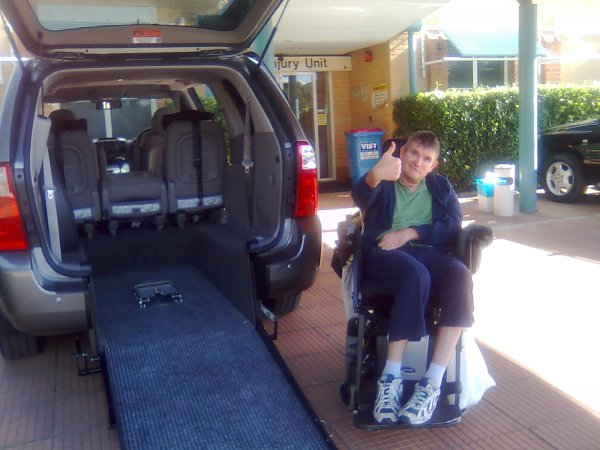 Freedom Motors Australia | Customer Testimonials - Wheelchair Accessible Vehicle Conversions - ../../dc/testimonials/Image0571.jpg