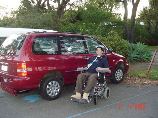 Freedom Motors Australia | Customer Testimonials - Wheelchair Accessible Vehicle Conversions - ../../dc/testimonials/agnew1.jpg