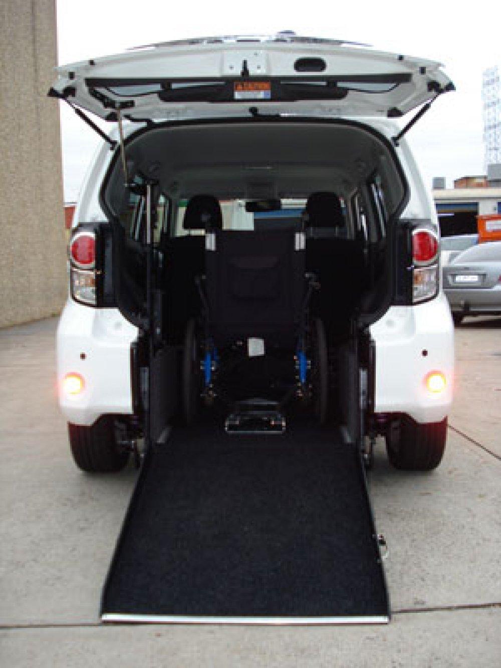 Wheelchair Accessible Vans >> Wheelchair Access Vehicle Conversion, Toyota Rukus