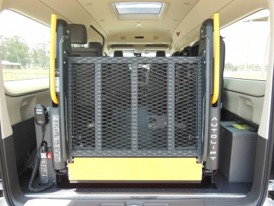Toyota Hiace Commuter wheelchair vehicle - FREEDOM TOYOTA COMMUTER