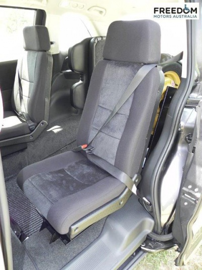 Honda Odyssey wheelchair vehicle - Side door with seat down view
