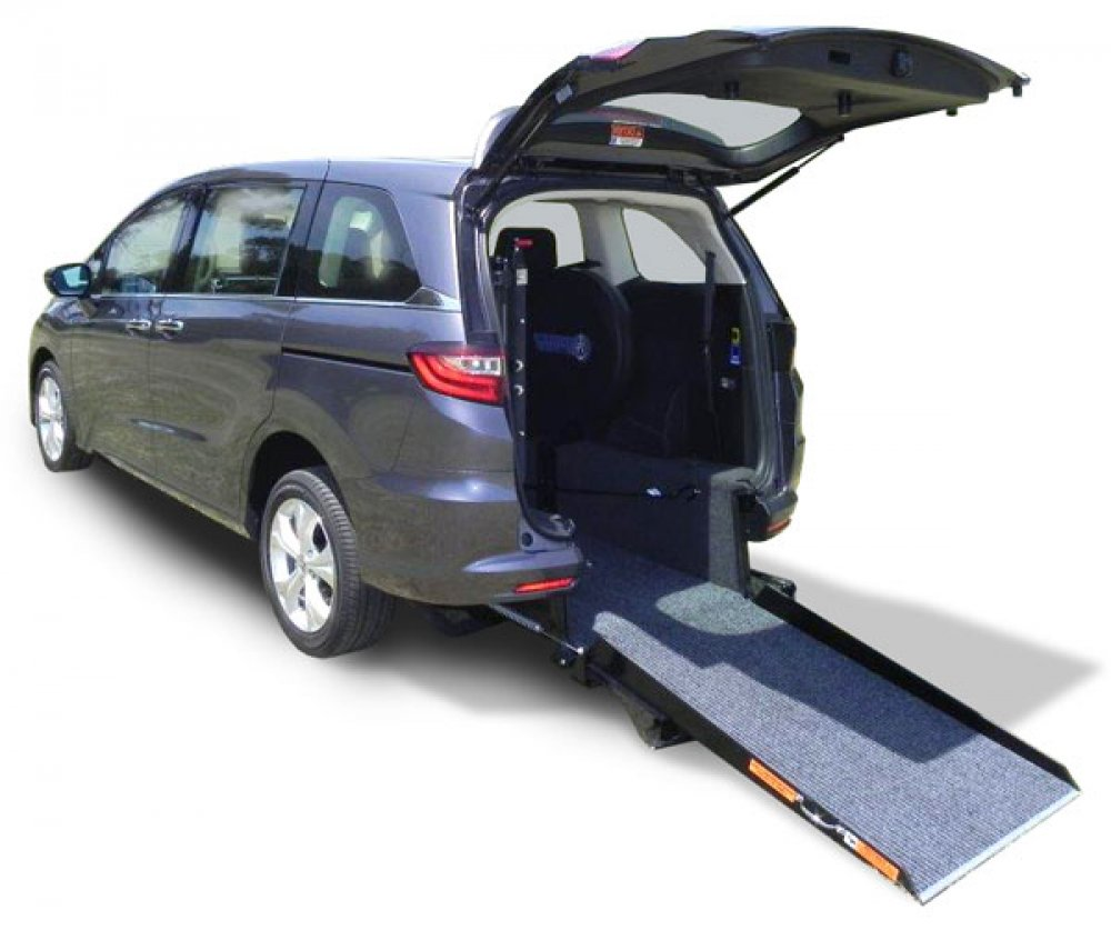 Honda Odyssey wheelchair accessible vehicle conversion