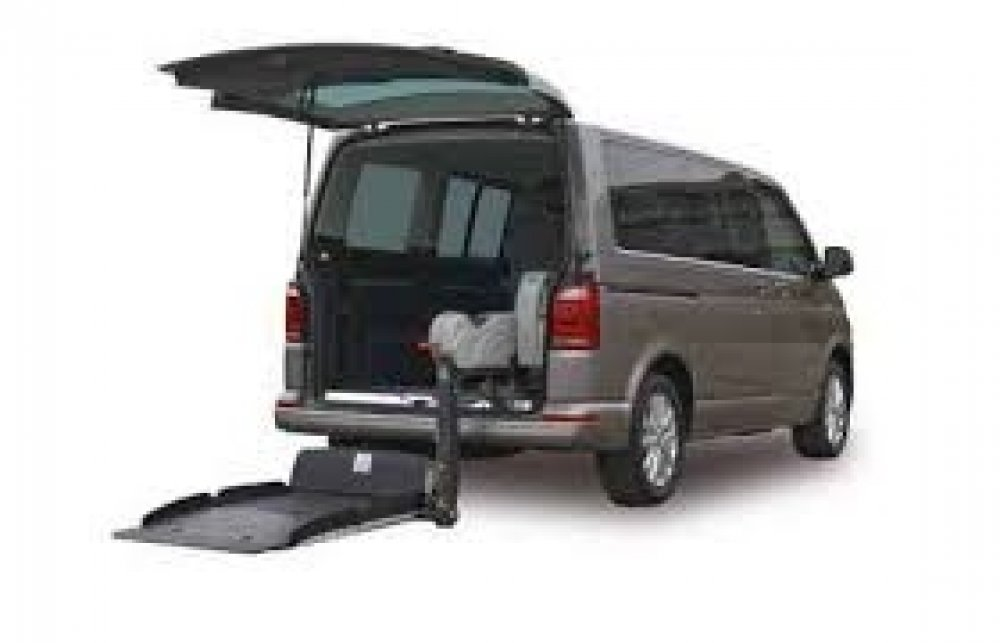 VW T6 Fiorella Lift wheelchair accessible vehicle conversion
