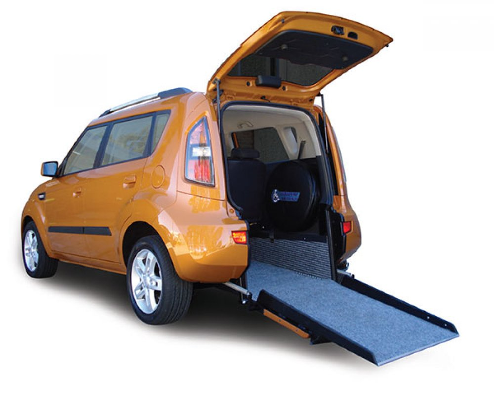 Kia Soul wheelchair accessible vehicle conversion