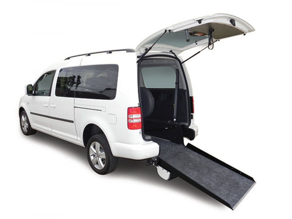 VW Caddy Range wheelchair accessible vehicle conversion