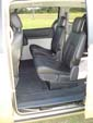 Chrysler Grand Voyager wheelchair vehicle - rear seats