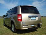 Chrysler Grand Voyager wheelchair vehicle - rear view closed
