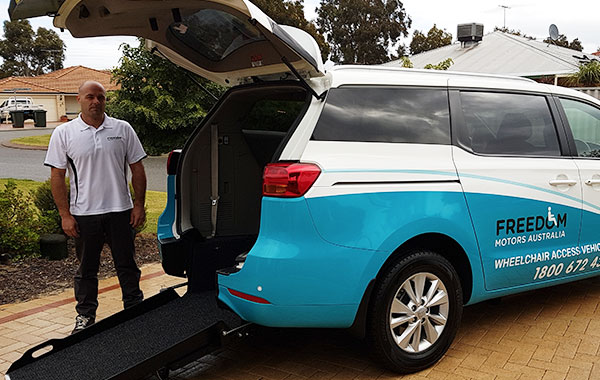 Wheelchair accessible vehicles taxi conversions wa for Freedom motors handicap vans
