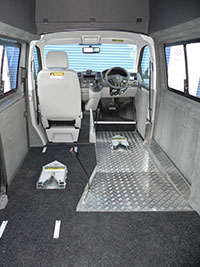 Self Drive Wheelchair Accessible Vehicle Conversion Sydney