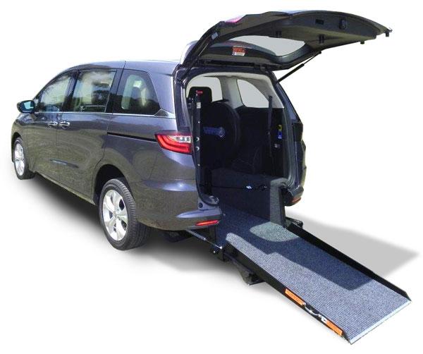 Honda Mini Vans: Honda Odyssey Wheelchair Accessible Vehicles, Wheelchair