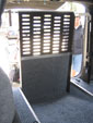 Hyundai iLoad wheelchair access vehicle - Wheelchair ramp up interior view