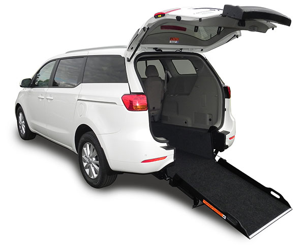 Kia Carnival Wheelchair Access Vehicle