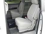 Kia Carnival wheelchair access vehicle - Wheelchair ramp & interior view
