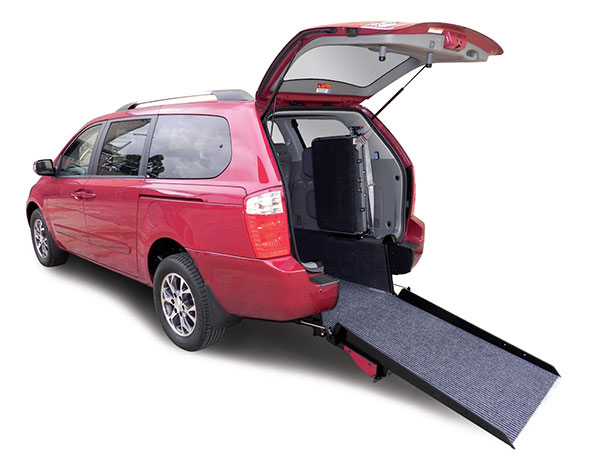 Freedom Motors Australia has Kia Carnival wheelchair vehicle hire available