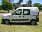 Renault Kangoo wheelchair access vehicle - Side closed view