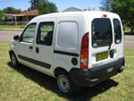 Renault Kangoo wheelchair access vehicle - Rear angled view