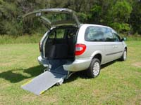 Freedom Motors Australia has Chrysler Voyager wheelchair vehicle hire available