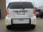 Toyota Rukus wheelchair access vehicle - rear view closed